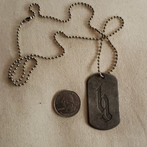Other - Brantley Gilbert Dog Tag Necklace
